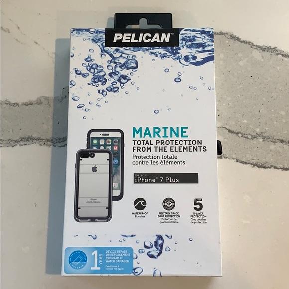 the best attitude 23cd1 07547 Black Pelican Marine iPhone 7 Plus case BRAND NEW